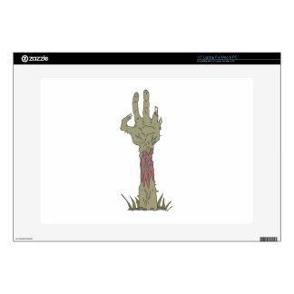 Creepy Zombie Haind Rising Decals For Laptops