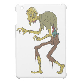 Creepy Zombie With Melting Skin With Rotting Flesh iPad Mini Cover