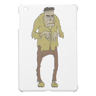 Creepy Zombie With Stitched Eyes With Rotting Cover For The iPad Mini