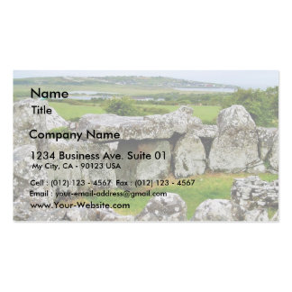 Creevykeel Stones Circles Ireland Court Tombs 4 Business Card