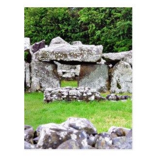 Creevykeel Stones Circles Ireland Court Tombs Postcard