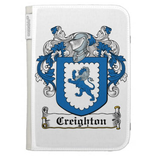 Creighton Family Crest Cases For Kindle
