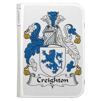 Creighton Family Crest Kindle Keyboard Covers