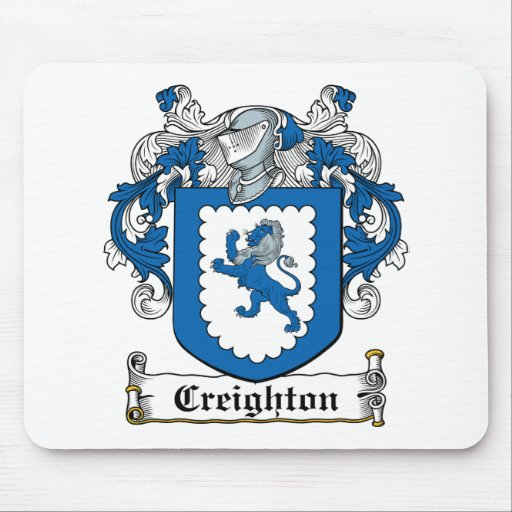 Creighton Family Crest Mouse Pad