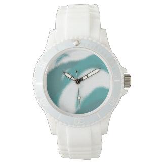 crema azul relojes