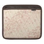 Crema burbujeante y beige funda para iPads