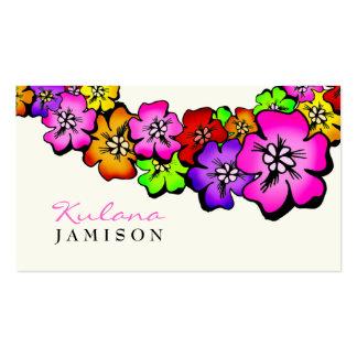Crema de 311 de la flor leus de la ducha tarjetas de visita