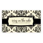 Crema del regaliz de la guinda del pastel 311 plantillas de tarjetas personales