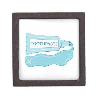 Crema dental de la chispa cajas de joyas de calidad