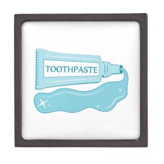 Crema dental de la chispa cajas de recuerdo de calidad