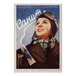 Crema dental soviética Sanit de URSS que hace publ Posters