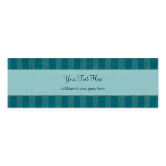 Crema en briznas y rayas florales del trullo con e tarjeta de visita