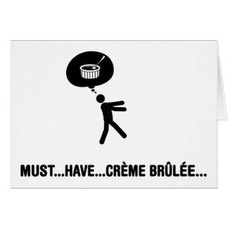 Creme Brulee Lover Card