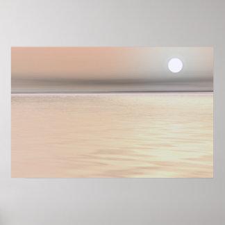 Creme Brulee Soft Sunset Art Canvas Or Print