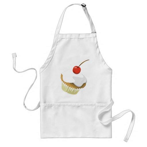 Creme cupcake apron
