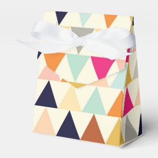 Crème De La Crème - caja de los triángulos Cajas Para Detalles De Boda