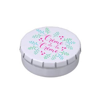 Creme de La Creme Pink Hearts Candy Tin