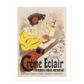 Creme Eclair Entremets Exquis Instante Ad Postcard