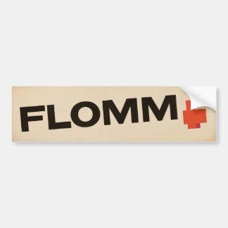 crème FLOMM positavo Bumper Sticker