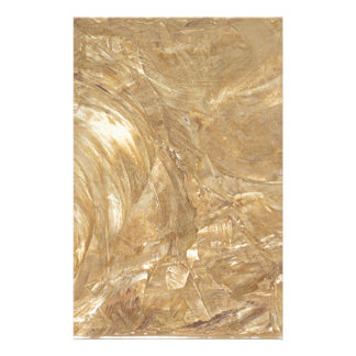 Creme Marble Faux Finish Stationery