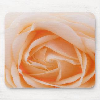creme rose mousepad