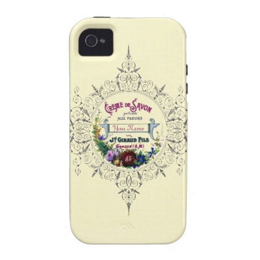 Creme Savon iPhone 4 Case