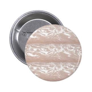 Creme Silver Sparkle : Plane or Add Text  n Image Pinback Button
