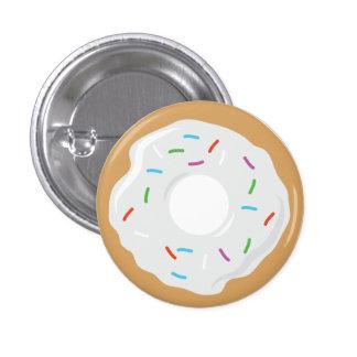 Creme White Donut Pin