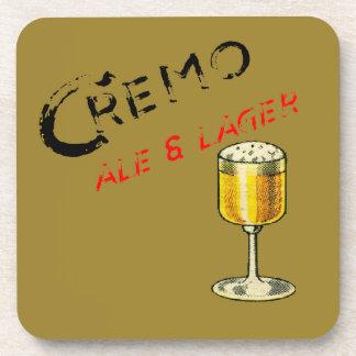 Cremo Ale & Lager Beer Beverage Coaster