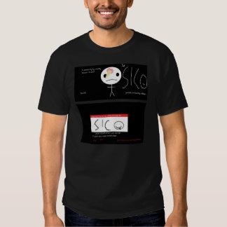 Cremoso helado de Sico y hola camiseta Remeras