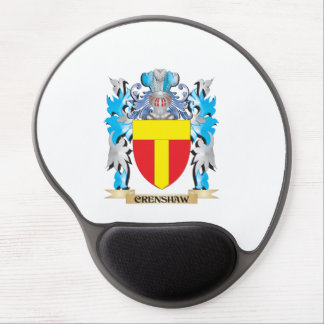 Crenshaw Coat of Arms - Family Crest Gel Mouse Pad