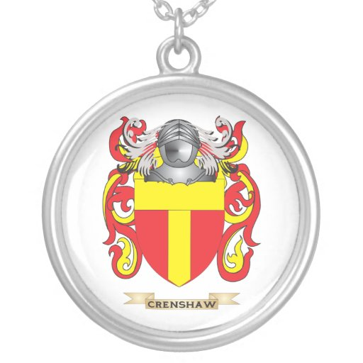 Crenshaw Coat of Arms Necklace