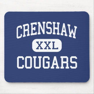 Crenshaw - Cougars - High - Los Angeles California Mouse Pad