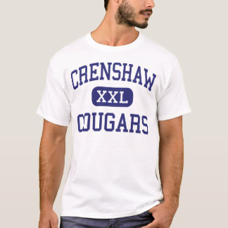 Crenshaw - Cougars - High - Los Angeles California T-Shirt