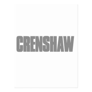 Crenshaw Los Angeles Postcard