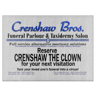 Crenshaw The Clown Cutting Board