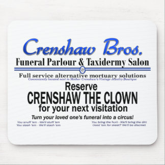 Crenshaw the Clown Mouse Pad