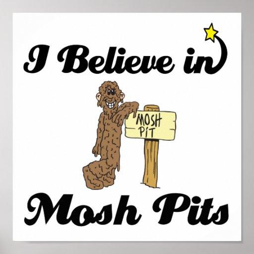 creo adentro mosh los hoyos poster