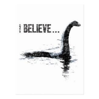 Creo… al monstruo de Loch Ness Postales