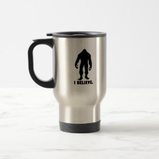 Creo el | Bigfoot el | Sasquatch Taza Térmica