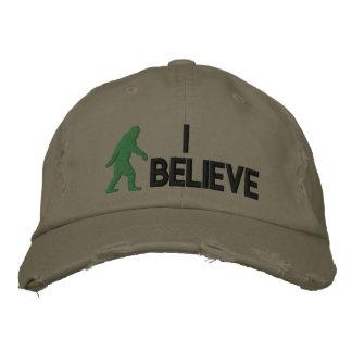 """Creo el logotipo de Bigfoot del *large """" Gorra De Beisbol Bordada"""