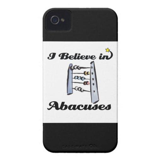 creo en ábacos iPhone 4 cobertura