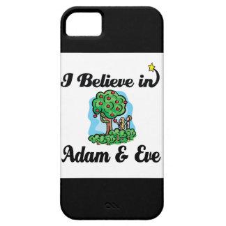 creo en Adán y Eva iPhone 5 Funda