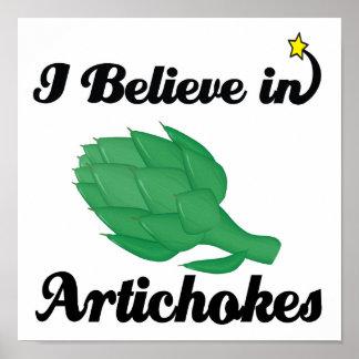 creo en alcachofas impresiones