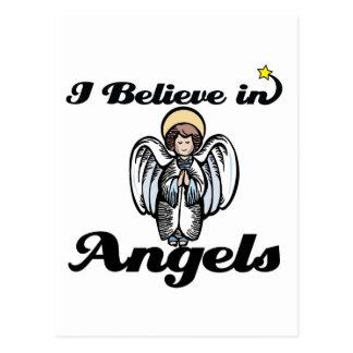 creo en ángeles postal