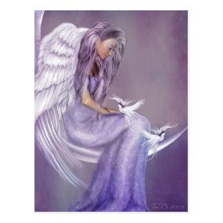 Creo en ángeles tarjeta postal