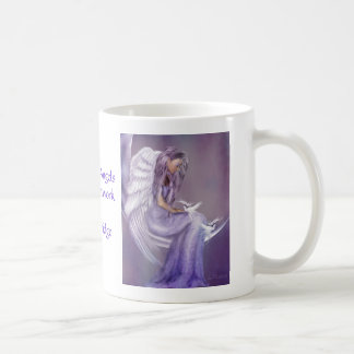 Creo en ángeles taza clásica