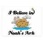 creo en arca de los noahs postales
