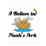 creo en arca de los noahs tarjetas postales