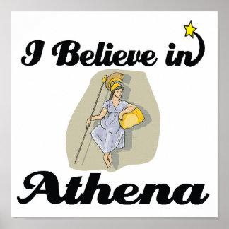 creo en Athena Póster